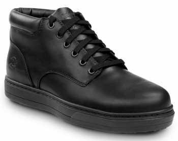 Timberland PRO STMA1S34 Disruptor, Men's, Black, Alloy Toe, MaxTRAX Slip Resistant Chukka