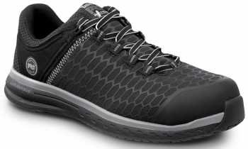 Timberland PRO STMA1XPD Powerdrive, Men's, Black, Comp Toe, EH, MaxTRAX Slip Resistant Low Athletic