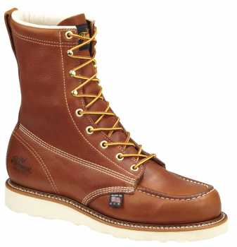 Thorogood TG804-4208 Men's Tobacco, Steel Toe, EH, Wedge, Moc Toe, 8 Inch Boot