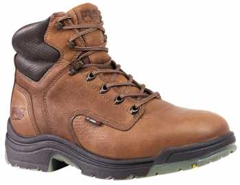 Timberland PRO TM26063 Coffee, Men's TiTAN Alloy Toe, EH, 6 Inch Work Boot