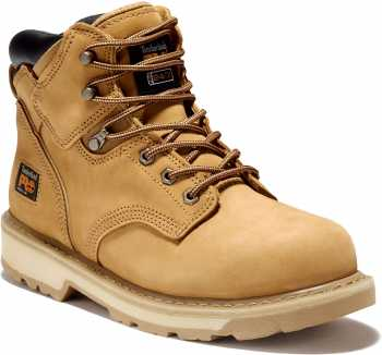 Timberland PRO TM33031 Pit Boss, Men's, Wheat, Steel Toe, EH, 6 Inch Boot
