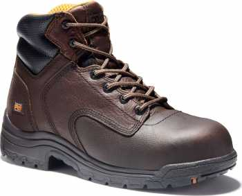 Timberland PRO TM50508 Dark Brown, Men's, TiTAN Comp Toe, EH, 6 Inch Work Boot