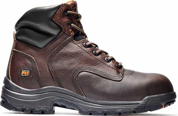 Timberland PRO TM50508 Dark Brown, Men's, TiTAN Comp Toe, EH, 6 Inch Work Boot