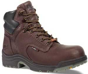Timberland PRO TM53359 TiTAN, Women's, Brown, Alloy Toe, EH, WP, 6 Inch Boot