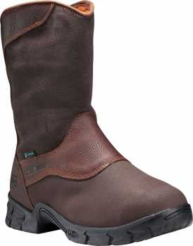 Timberland PRO TM89652 Excave, Men's, Brown, Steel Toe, EH, Mt, WP, Pull On Boot