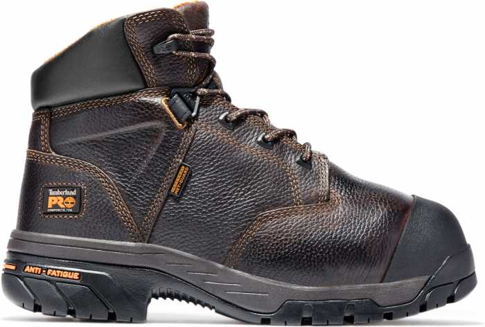 Timberland PRO TM89697 Brown, Men's, Helix Internal Met Guard, Comp Toe, EH, 6 Inch Boot