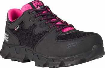 Timberland PRO TM92669 Powertrain SD, Black/Pink, Women's, Alloy Toe, Low Casual