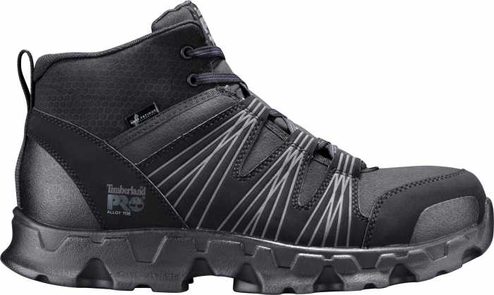 Timberland PRO TMA11QF Men's Black, Alloy Toe, SD, Mid High Hiker