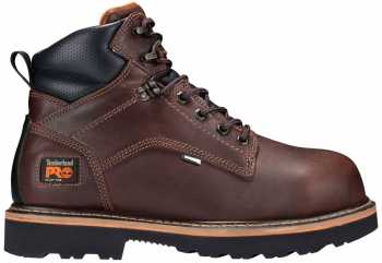 Timberland PRO TMA1711 Men's, Brown, Alloy Toe, EH, WP, 6 Inch Boot