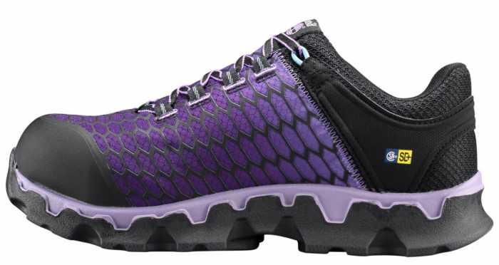 Timberland PRO TMA1H1S Powertrain, Women's, Lavender, Alloy Toe, SD Oxford