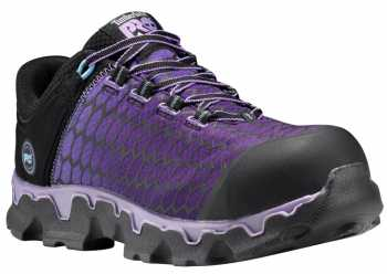 Timberland PRO TMA1H1S Powertrain, Women's, Lavender, Alloy Toe, SD Oxford