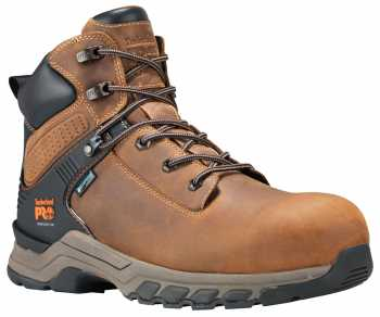 Timberland PRO Hypercharge, Men's, Brown, Comp Toe, EH, WP, 6 Inch Boot