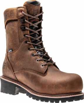 Timberland PRO TMA1X59 Buzzsaw, Men's, Brown, Comp Toe, EH, WP, 8 Inch Boot