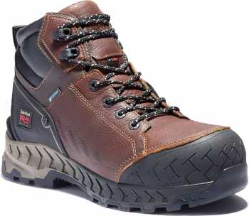 Timberland PRO TMA25CM Work Summit, Men's, Brown, Comp Toe, EH, WP/Insulated, 6 Inch