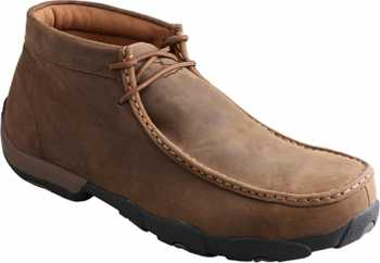 Twisted X TWMDMST01 Men's, Saddle, Steel Toe, EH, Mt, Chukka Driving Moc