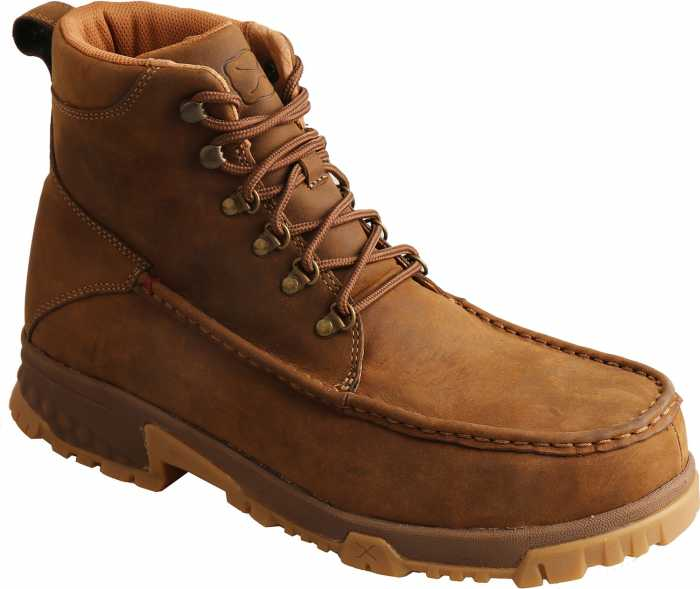 Twisted X TWMXCC001 Men's, Saddle, Comp Toe, EH, 6 Inch Boot