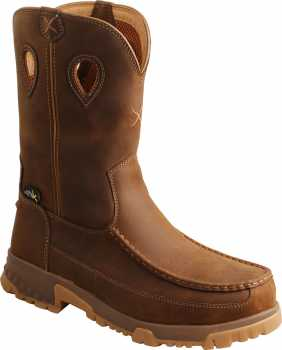 Twisted X TWMXCNM01 Men's, Saddle, Nano Toe, EH, Mt, 11 Inch, Pull On Boot