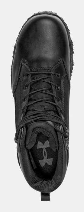 Under Armour UA1276375 Men's Black, Comp Toe, 8 Inch, Tactical Boot
