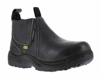 Florsheim WGFE690 Black, Men's, Steel Toe, Internal Met Guard, EH, Quick Release 6 Inch Work Boot