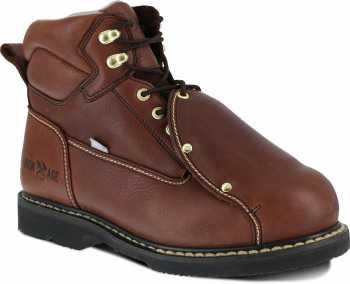 Iron Age WGIA5017 Groundbreaker, Men's, Brown, Steel Toe, EH, MT, 6 Inch Boot