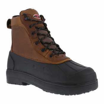 Iron Age WGIA9650 Brown/Black Comp Toe EH, Waterproof Men's Boot