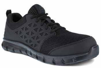 Reebok WGRB039 Sublite Work, Women's, Black, Comp Toe, SD, Low Athletic