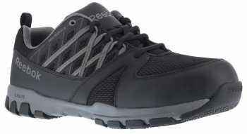 Reebok Work WGRB416 Sublite Work, Women's, Black/Grey, Steel Toe, SD, Work Athletic