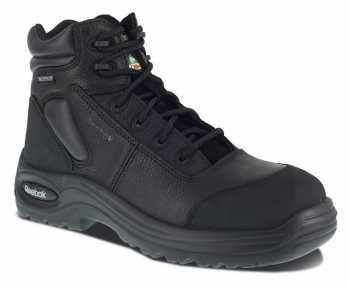 Reebok WGRB6765 Black Comp Toe, EH, PR, Waterproof Men's 6 Inch Sport Boot