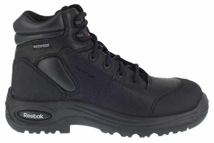 Reebok Work WGRB6765 Black Comp Toe, EH, PR, Waterproof Men's 6 Inch Sport Boot
