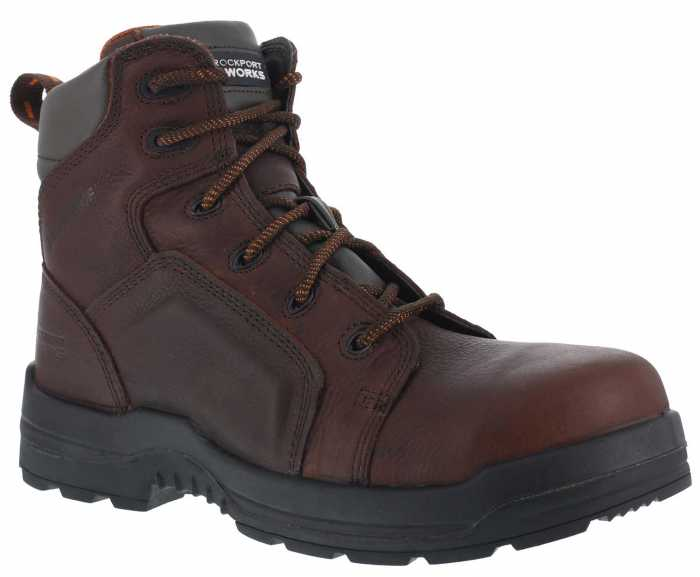 Rockport WGRK6640 More Energy, Men's, Brown, Comp Toe, EH, Waterproof Boot