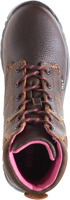 Wolverine WW10180 Piper Brown, Comp Toe, EH, Waterproof Women's 6 Inch Boot
