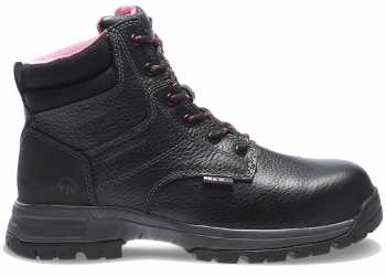 Wolverine WW10181 Piper Black, Comp Toe, EH, Waterproof Women's 6 Inch Boot