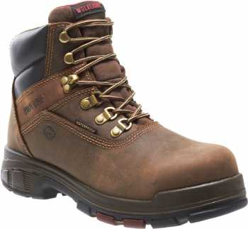 Wolverine WW10314 Cabor EPX Men's, Brown, Comp Toe, EH, Waterproof, 6 Inch Work Boot