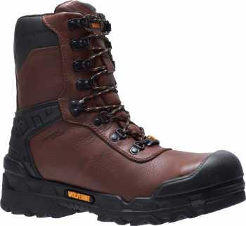 Wolverine WW10931 Warrior, Men's, Brown, CarbonMAX, EH, WP, 8 Inch Boot