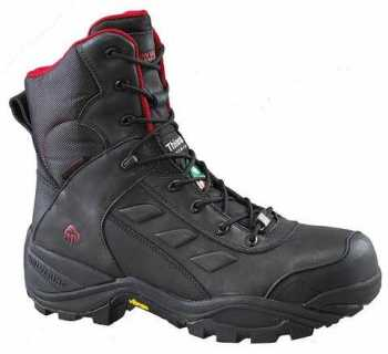 Wolverine WW23311 Growler Men's, Black, Comp Toe, EH, PR, Waterproof, Insulated, 8 Inch Boot