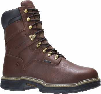 Wolverine WW2407 Darco, Men's, Brown, Steel Toe, EH, Mt, WP, 8 Inch Boot