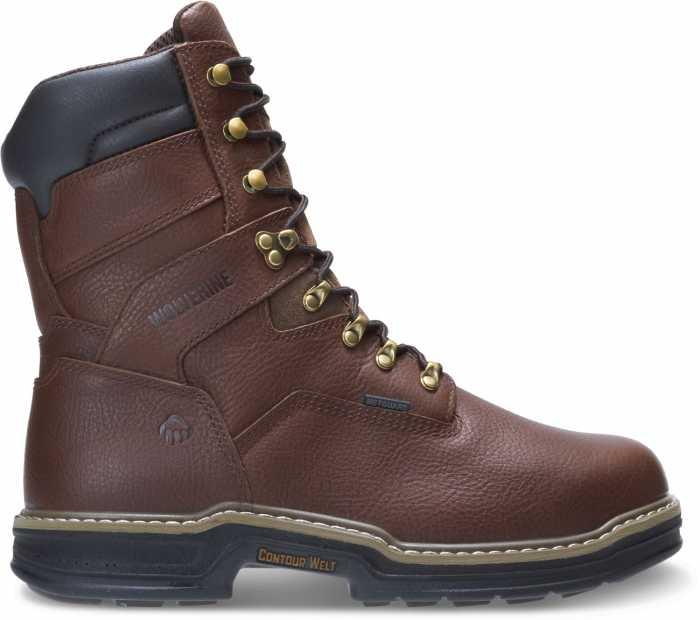 Wolverine WW2407 Darco, Men's, Brown, Steel Toe, EH, Mt, WP, 8 Inch Boot