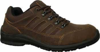 Work Zone WZS473-BR, Men's, Brown, Steel Toe, EH, Hiker Oxford