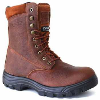 Work Zone WZS852-BR Men's, Brown, Steel Toe, EH, WP, Insulated Boot